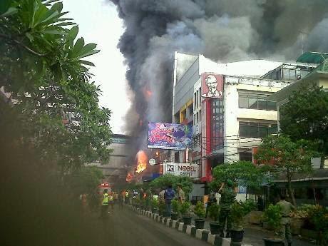 Kebakaran King's Shopping Centre Bandung