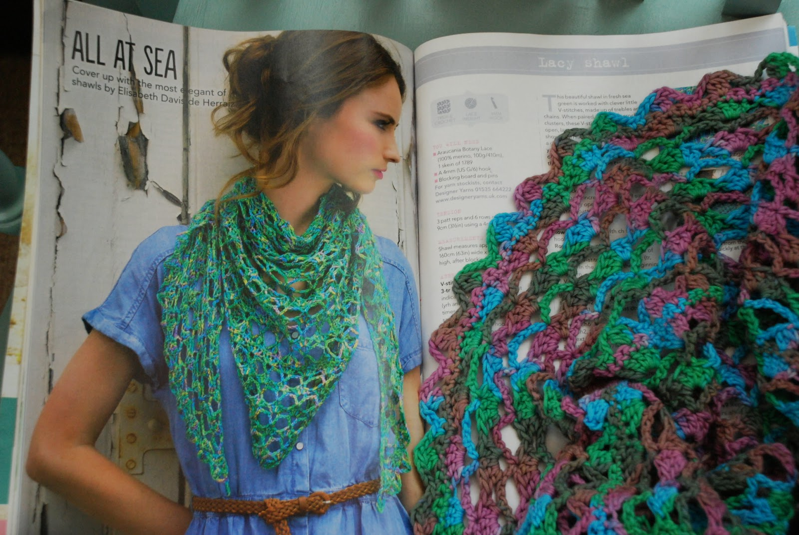 image of All at sea shawl Simply crochet Issue 22