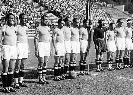 1934 Football World Cup winning Team