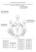 Los simbolos de la corona de Adviento. Publicado por las melli en 08:04