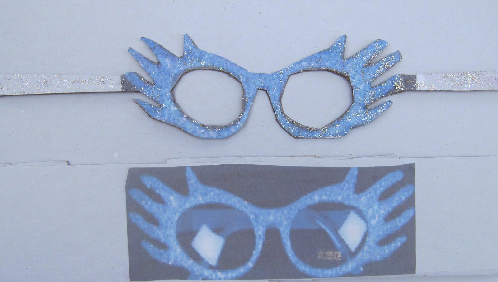 Je les appelle mes petits bricolages lunettes disco en carton - Comment faire grossir les melons ...