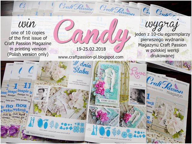 Candy na blogu CraftPassion