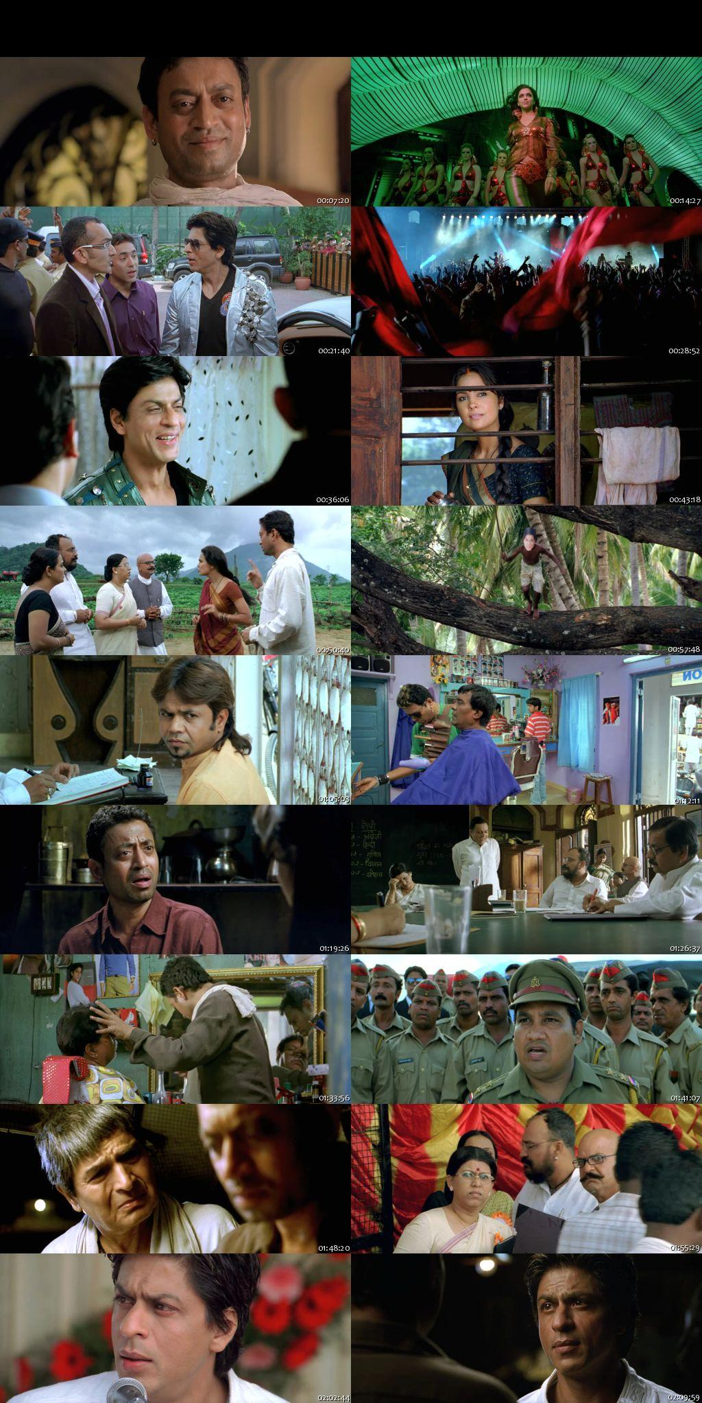 Screen Shot Of Billu Barber 2009 Full Movie Free Download HD 720P Watch Online