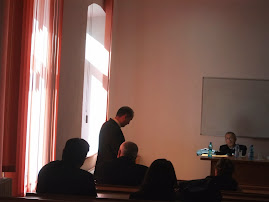 Aspect din timpul suţinerii tezei D-lui Adrian Butnaru, 9.09.2013...