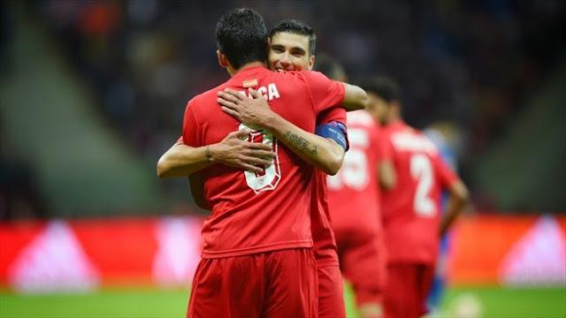 Highlights Dnipro 2 – 3 Sevilla (Europa League)