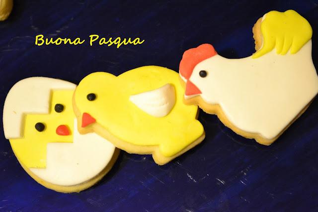 biscotti di pasqua decorati in pdz