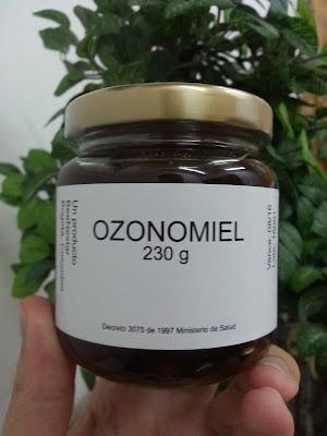 miel ozonizada