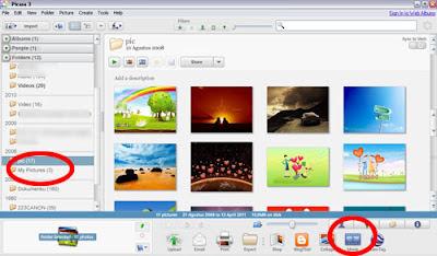 Membuat Foto Menjadi Video dengan Picasa1