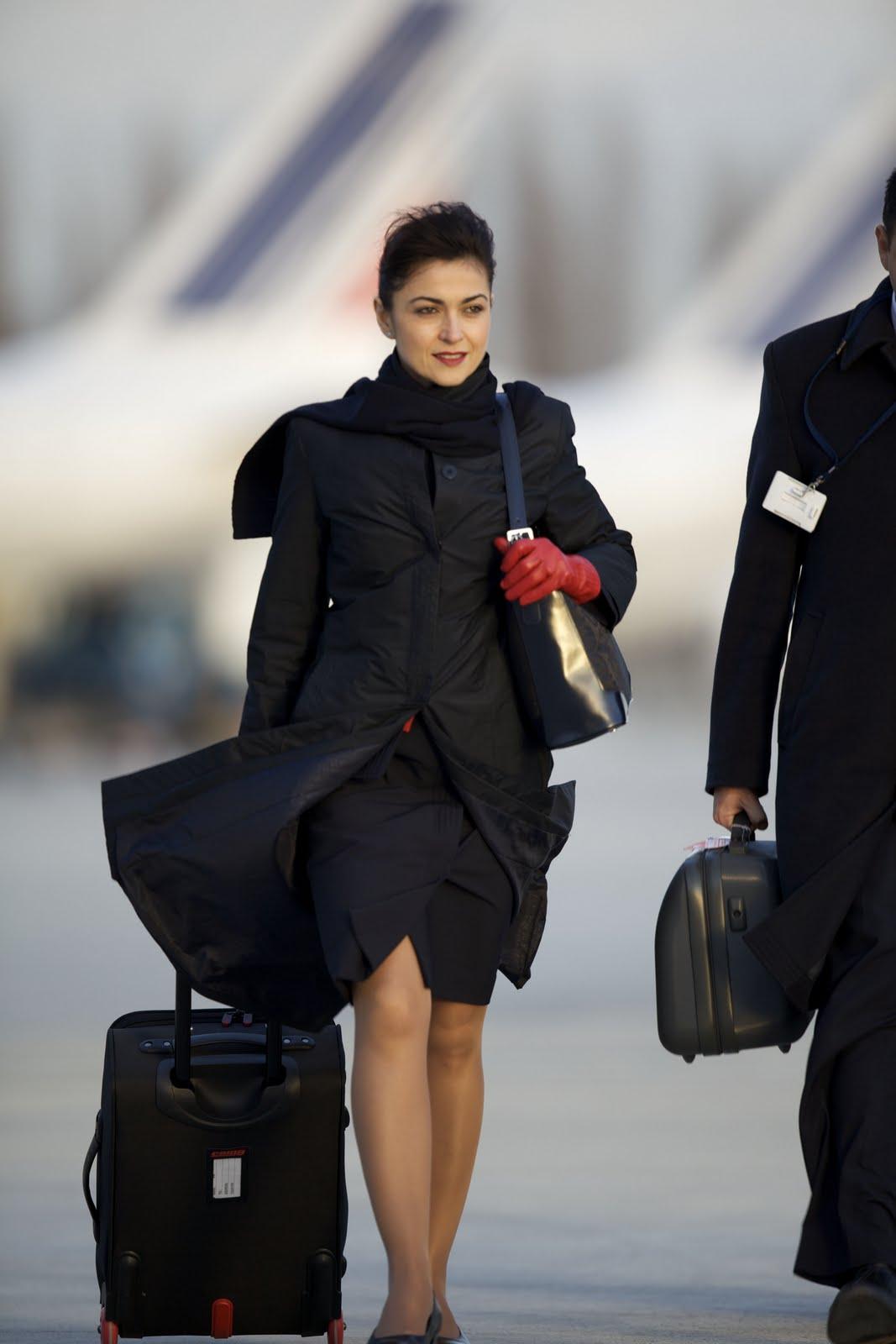 Air stewardess air france 9