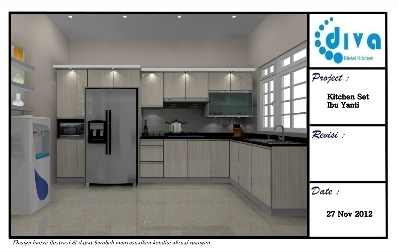 Good KITCHEN SET MINIMALIS