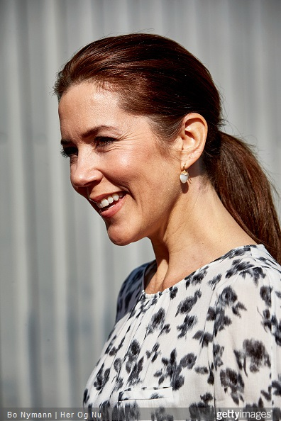 Crown Princess Mary of Denmark at the Maternity Foundations jubilee and the launch of the Safe Delivery App