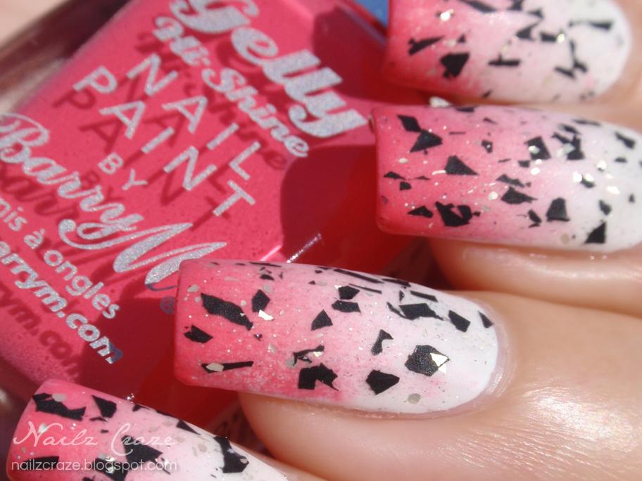 Dragon Fruit Inspired Nail Art - Nailz Craze