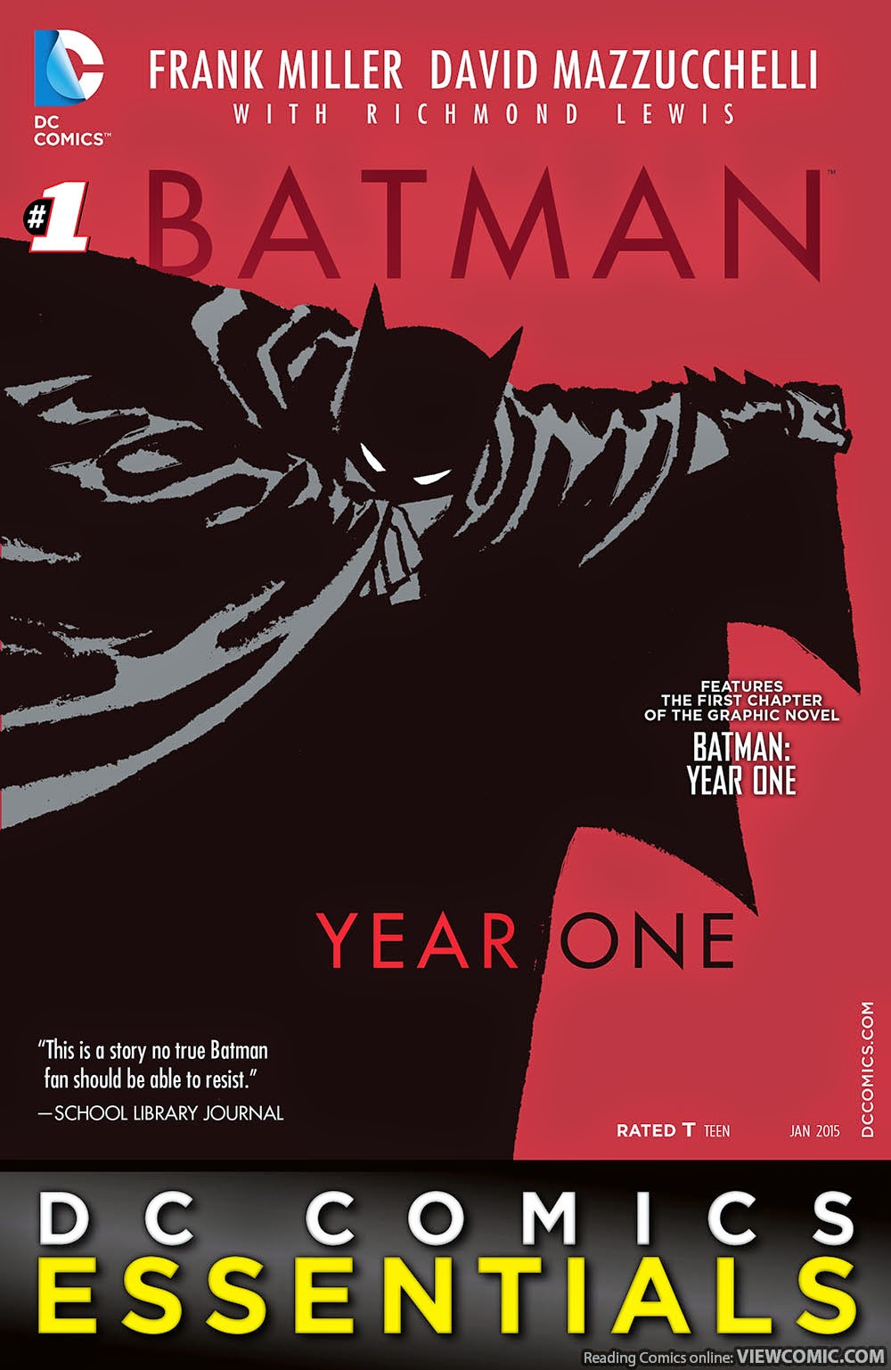 dc comics essentials batman year one viewcomic reading comics