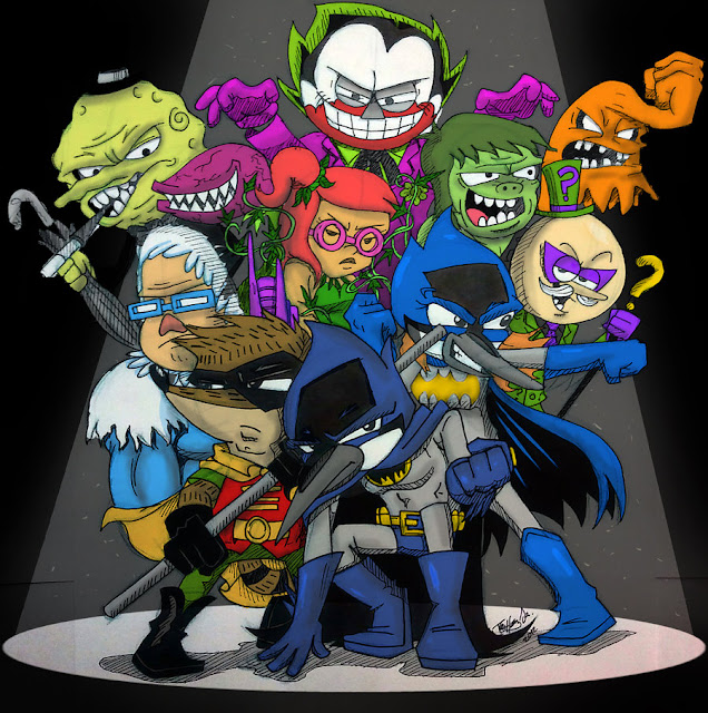 Regular Show Batman Special por koude123