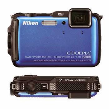 Nikon Coolpix AW120 Kalis Beku