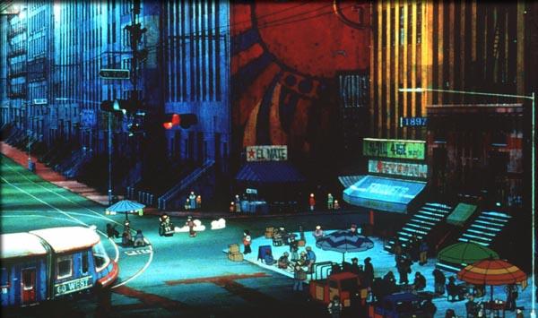 Metropolis 2001 street scene animatedfilmreviews.blogspot.com
