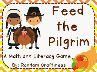 http://www.teacherspayteachers.com/Product/Feed-the-Pilgrim-Math-and-Literacy-Thanksgiving-Center-963748
