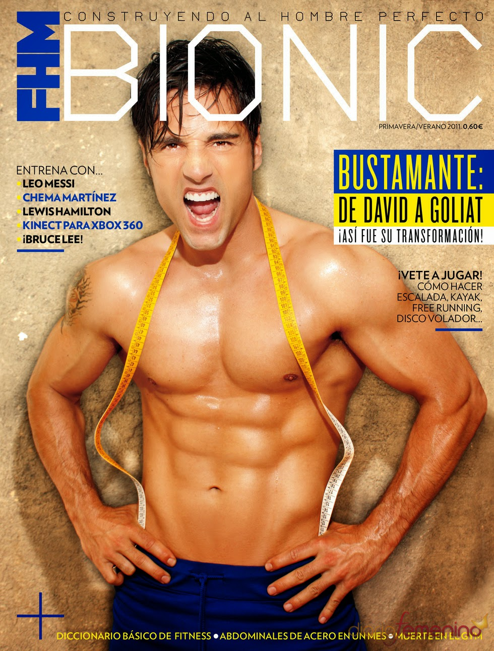 Portada FHM David Bustamante