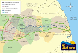 Mapa da Bacia Hidrográfica