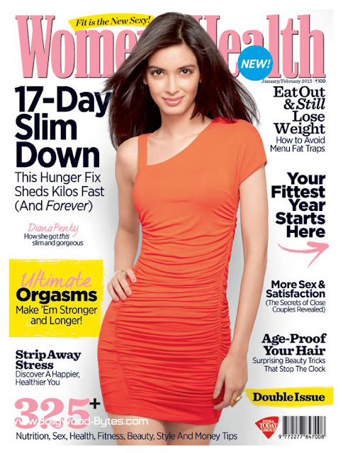 Diana Penty Cover Girl Women's Health Indian Edition January 2013