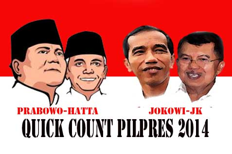 Habis Quick Count, Terbitlah Real Count Pilpres 2014