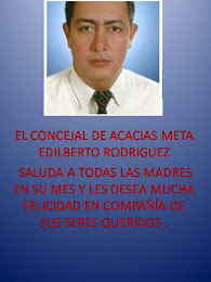 EL CONCEJAL EDILBERTO RODRIGUEZ