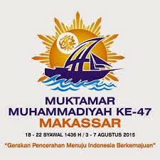 logo muktamar muhammadiyah 47 di makassar