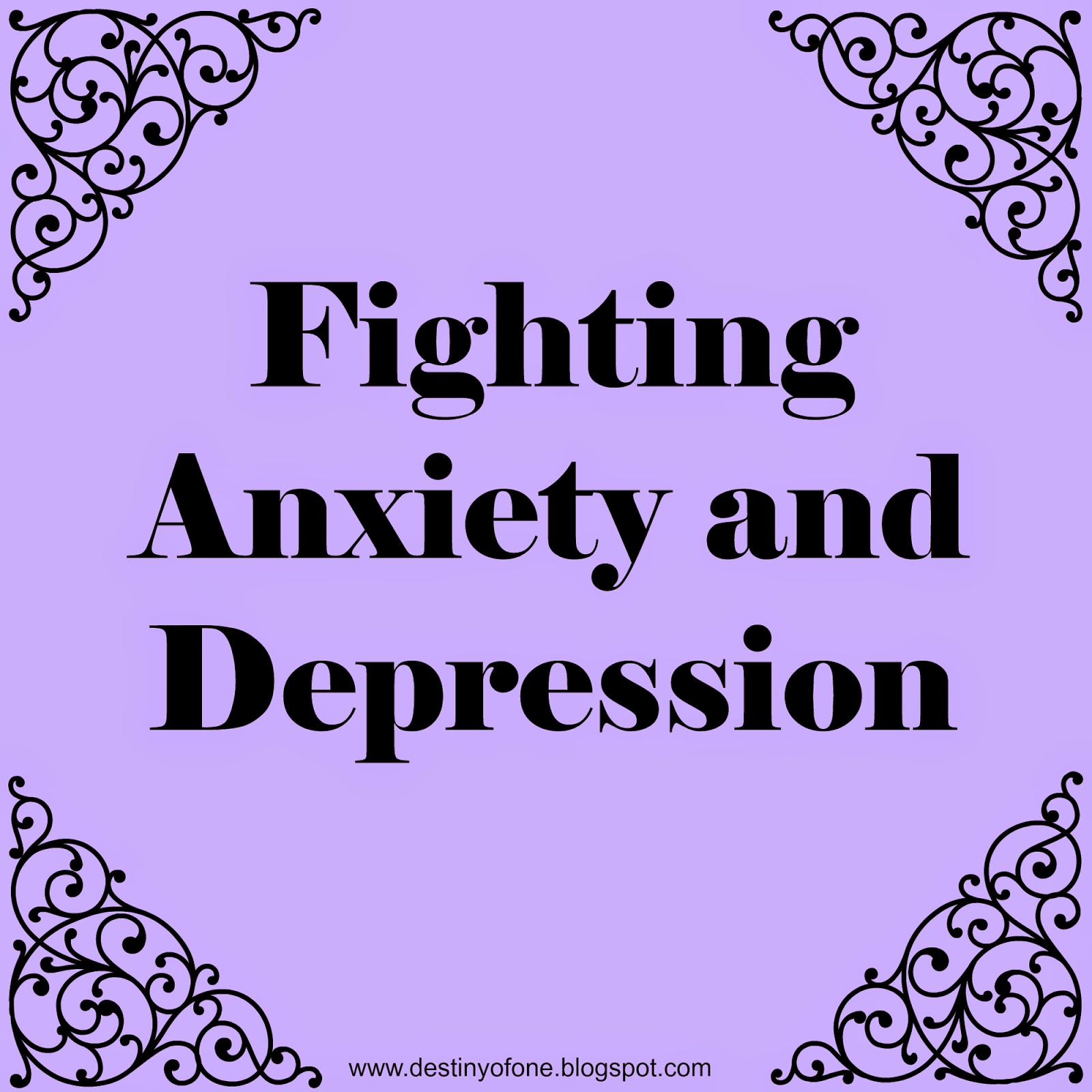 beating anxiety and depression