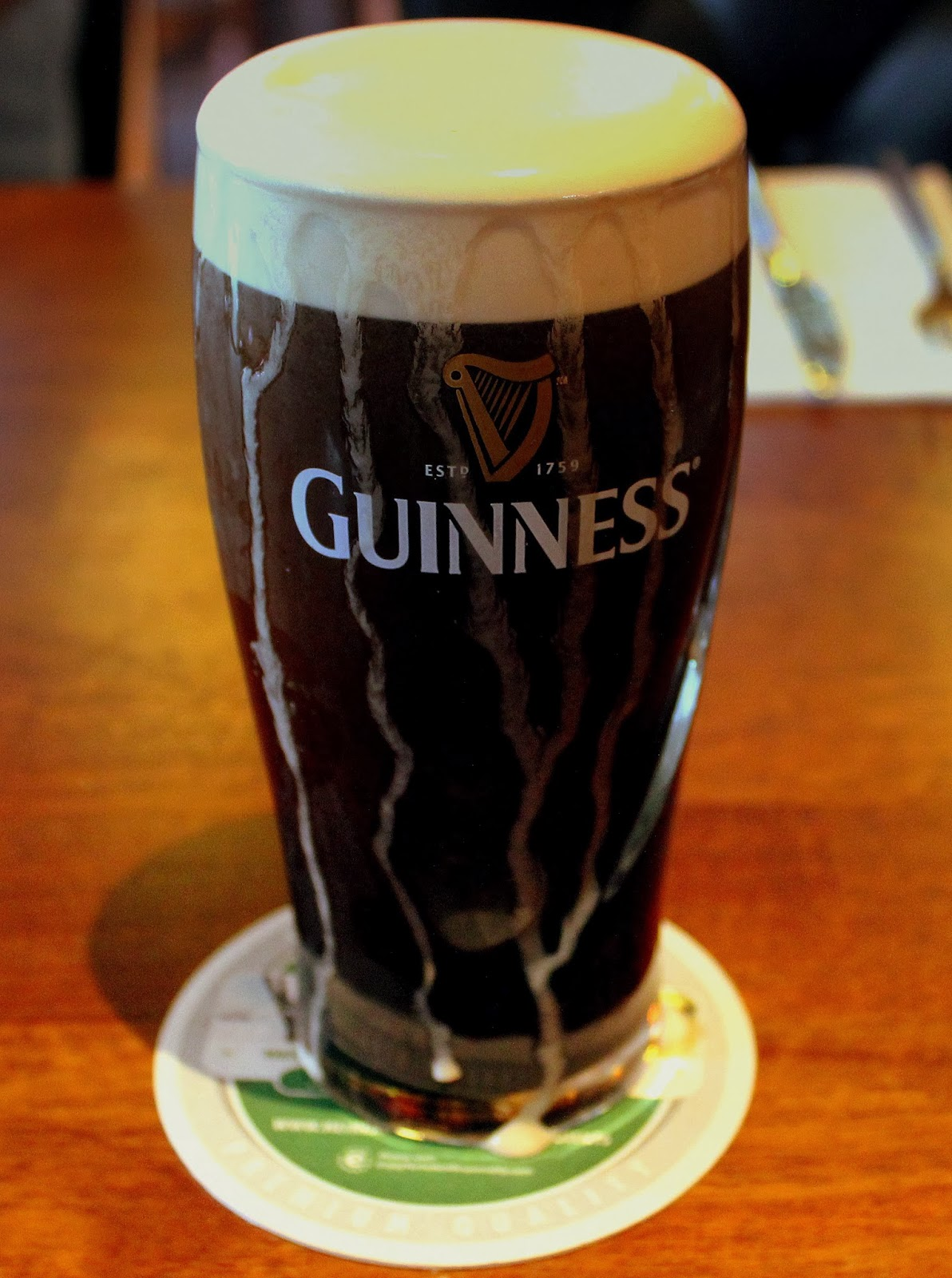 a guinness image from wikimedia commons