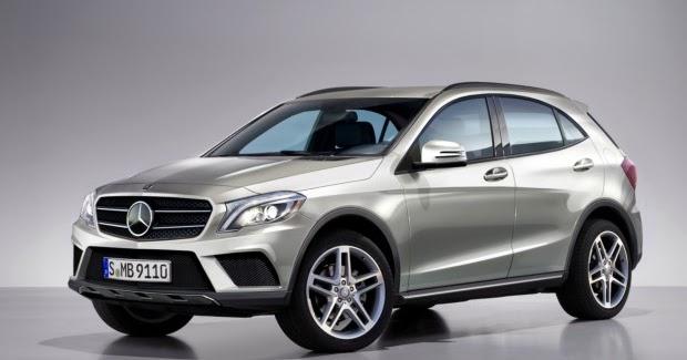 Tudo Sobre Carro: Primeiro SUV compacto da Mercedes-Benz ...