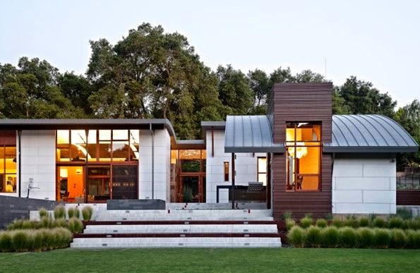 Fachadas de casas modernas fachadas de casas modernas y for Casa moderna 4 mirote y blancana