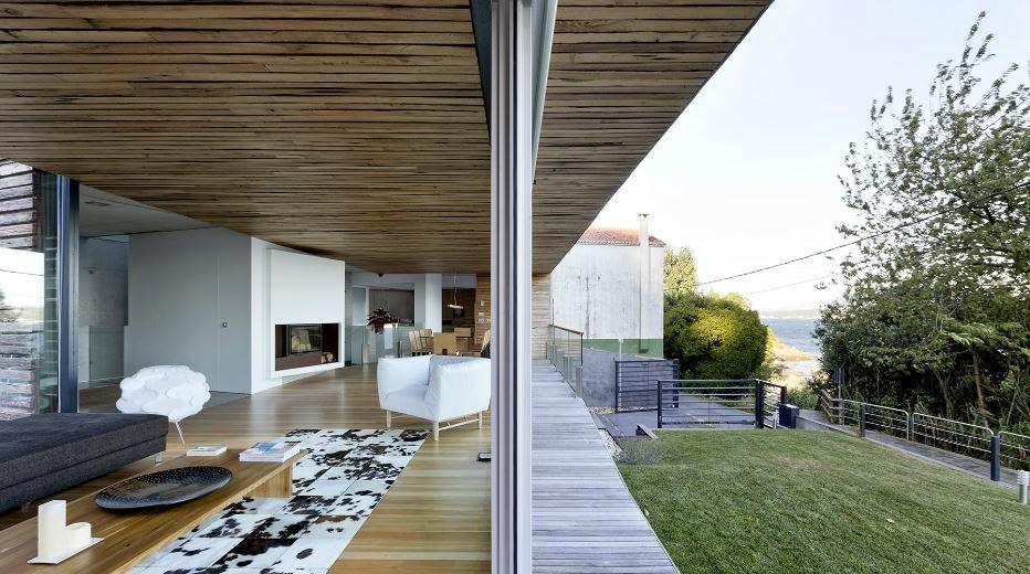 Galicia cool magazine dezanove house una hermosa y contempor nea casa de vacaciones en alquiler - Alquiler de apartamentos en galicia ...