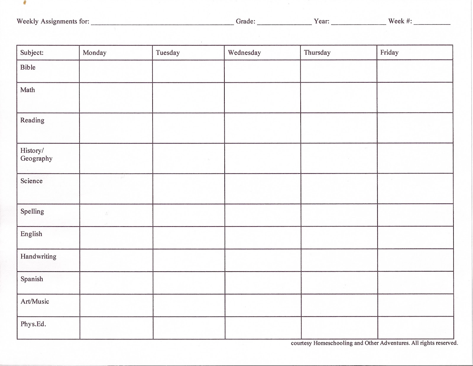 Printable homework sheet template || Try resume next