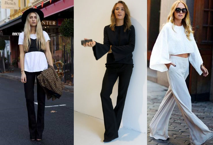 Flares street style 2015 minimalist