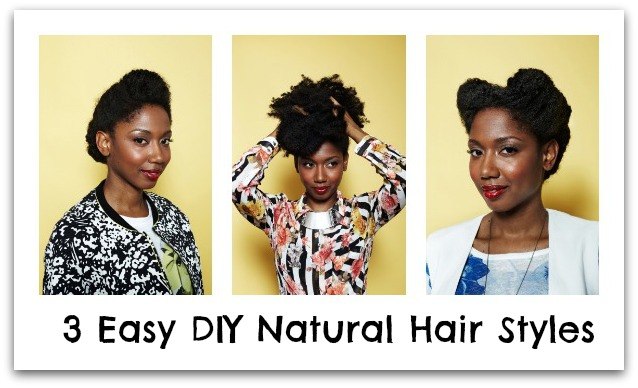 LoveBrownSugar LBS Beauty Easy DIY Natural Hair Styles - Diy natural hairstyle