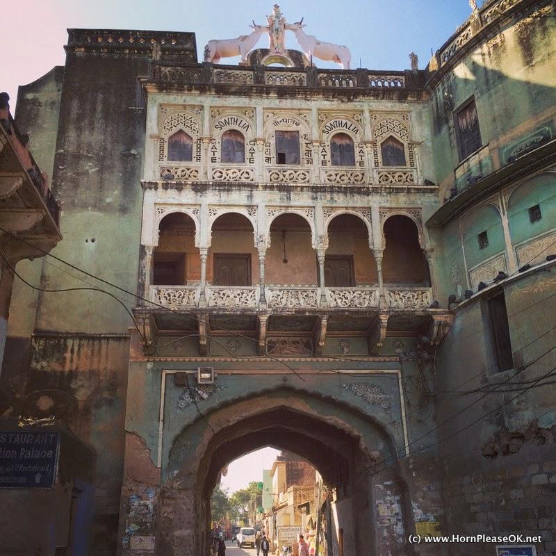 Town of Mandawa, Rajasthan