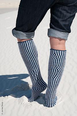 Calliope Brioche Socks