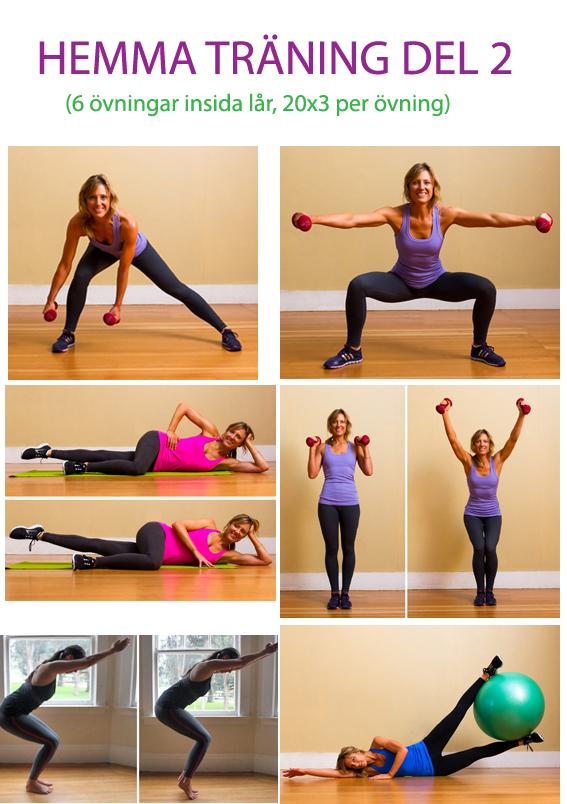 hur tränar man låren