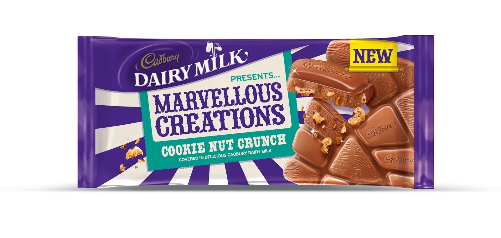 Cadbury Dairy Milk Marvellous Creations Chocolate Bar