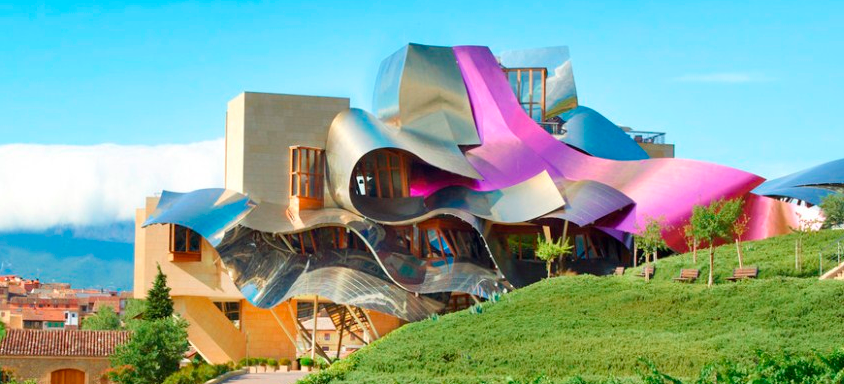 El blog de mis vinos las 10 mejores bodegas de dise o de espa a - Arquitecto bodegas marques de riscal ...