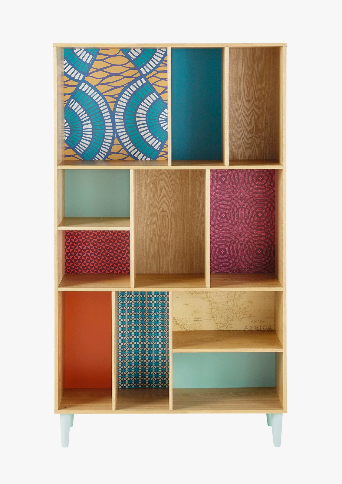 Ristrutturare ed arredare il soggiorno 1 pareti for Libreria cubi ikea