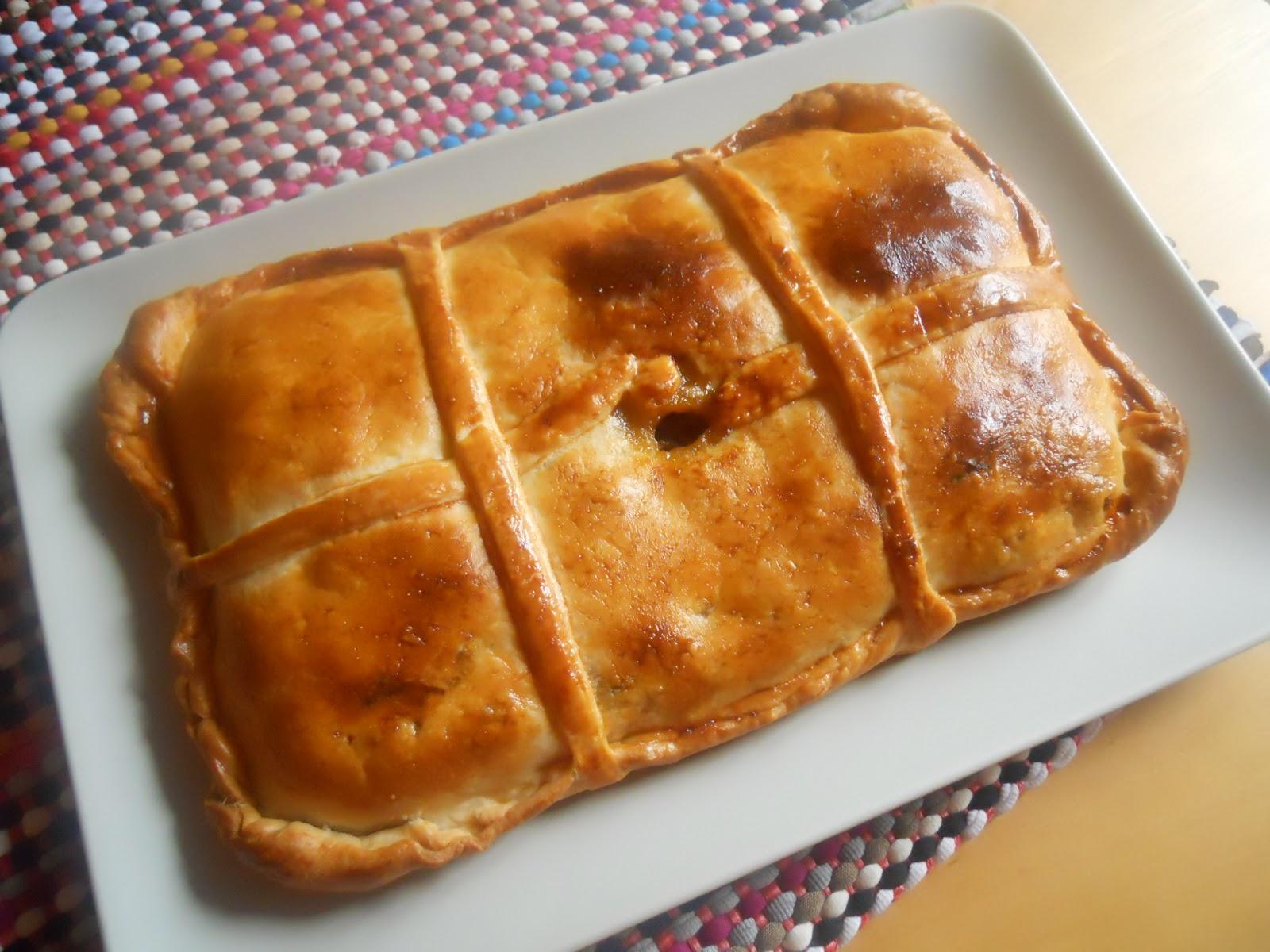 Ya s qu cocinar empanada de pollo con verduras for Que cocinar con pollo