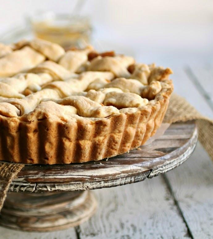 Salted Caramel Apple Pie