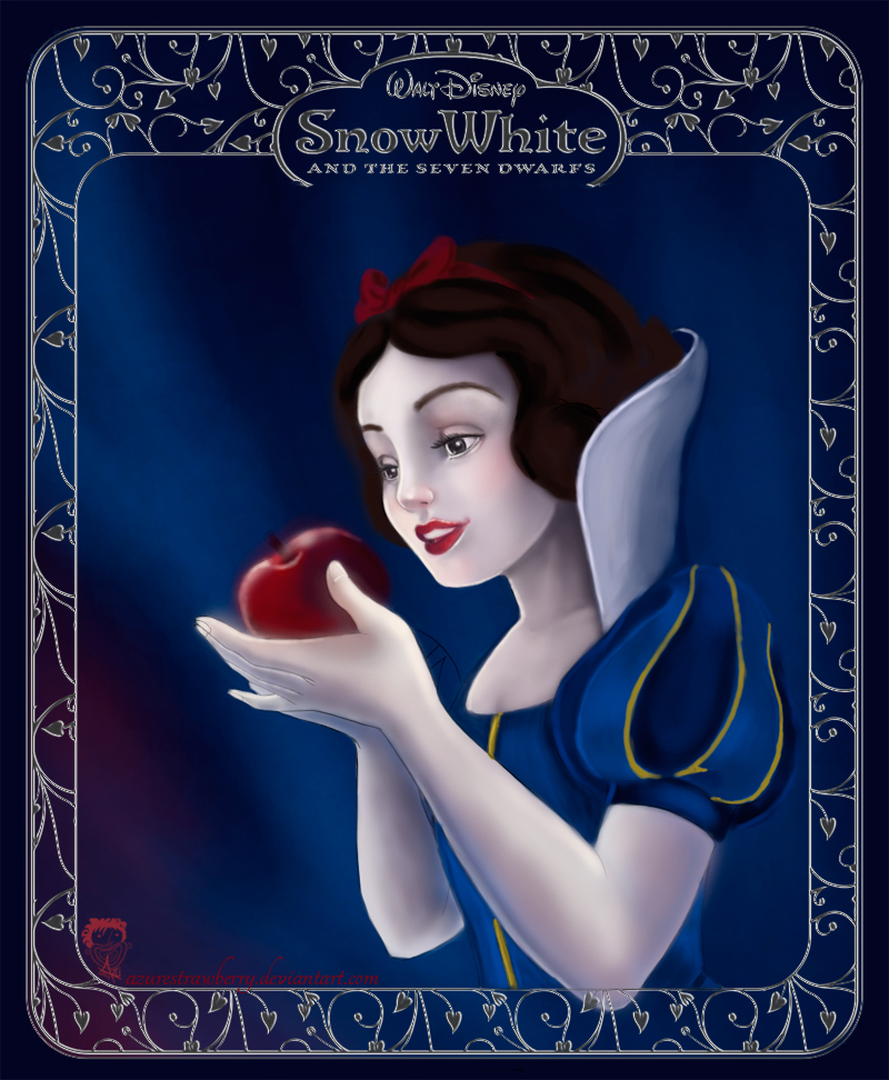 Disney coloring book: Snow White WIP1