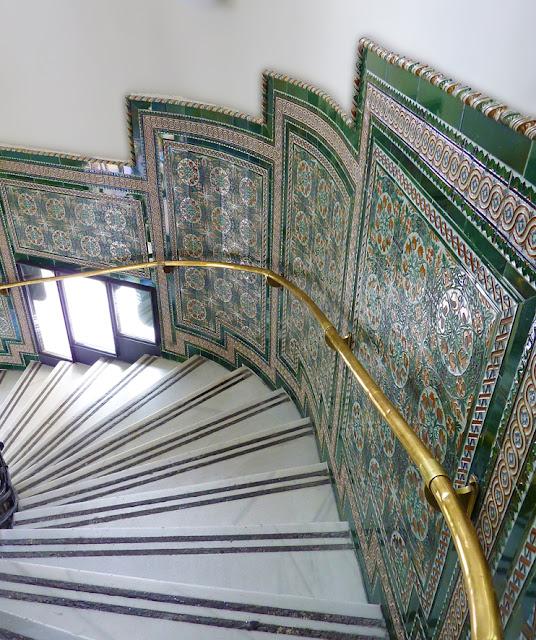 Escalera interior del CentroCentro
