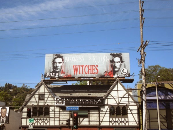 Witches of East End season 2 men billboard