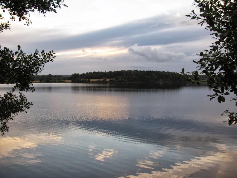 Lindesjön en augustikväll 2013