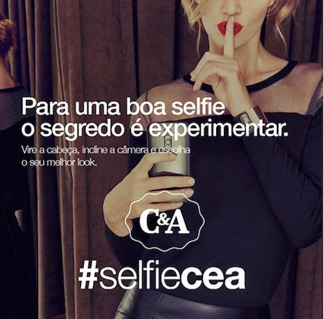 """Promoção """"Selfie C&A"""" no Instagram"""