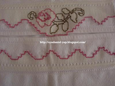 havlu kenarı dantelleri