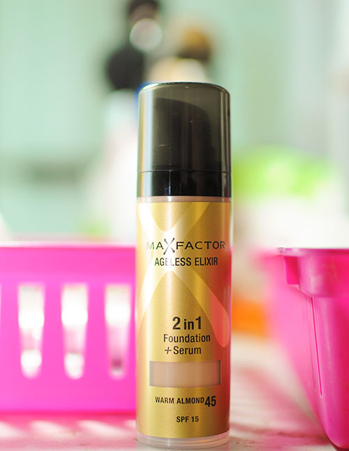 max factor 2 in 1 foundation warm almond